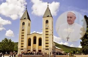 Papa Francisco encontrou-se com o pároco de Medjugorje