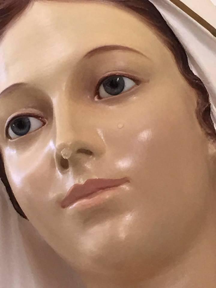 Paolo Brosio: Estátua veio de Medjugorje e foi abençoada durante uma aparição