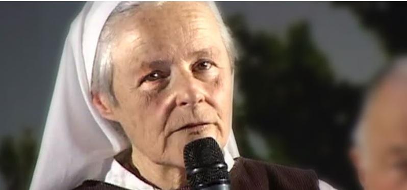 INTERPRETAÇÃO DE IRMÃ EMMANUEL SOBRE AS PALAVRAS DO PAPA FRANCISCO