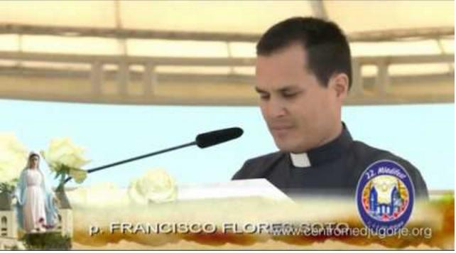 PADRE FRANCISCO FLORES: A RESPOSTA DE DEUS PARA MIM VEIO ATRAVÉS DE MARIA EM MEDJUGORJE