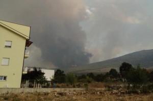 Fogo cancela aparição pública planejada