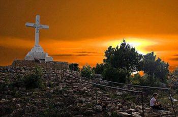 A APARIÇÃO DE JESUS NA CRUZ DO KRIZEVAC EM MEDJUGORJE