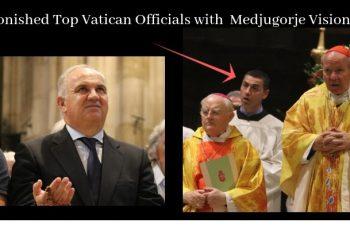 Enviado Vaticano e o Conselheiro do Papa juntos com o Vidente Ivan na Áustria