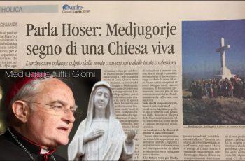 """Visitador Vaticano: """"Medjugorje não é mais um lugar suspeito, mas é o sinal de uma Igreja Viva !!!"""""""