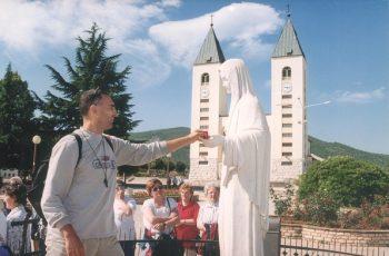 Em Medjugorje, Maria curou os traumas da minha vida !!!